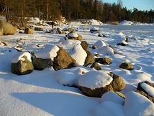 Uutela Seashore After Snowfall - Helsinki F