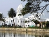 Ujjayanta  Palace As Seen From The  Rajbari  Lakes