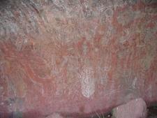 Aboriginal Rock Art At Uluru