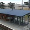 Unanderra la estación de tren