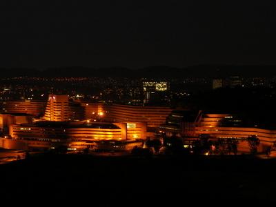 Unisa Muckleneuk Campus At Night