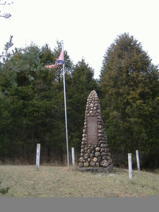 Unknown Confederate Soldier Monument In Horse Cave