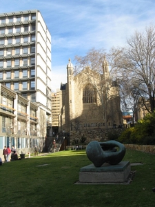 From The Rear: Bonython Hall (right) And The Napier Building
