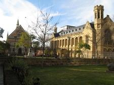 Bonython Hall (right) And The Elder Conservatorium