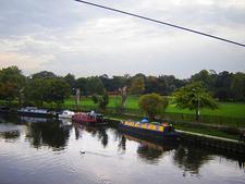 Springfield Park From The High Bridge