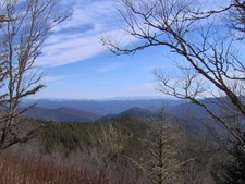 View From The Snake Den Ridge Trail/Appalachian Trail Junction