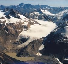 South Cascade Glacier View