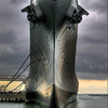 USS Wisconsin At Her Berth