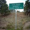 Ute Pass Sign