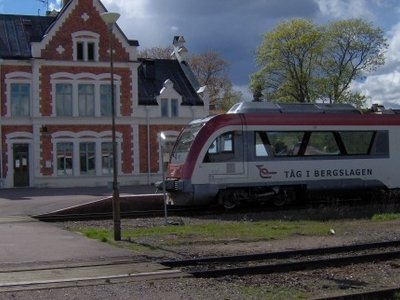 Vansbro Railway Station