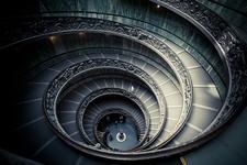 Vatican Museum Spiral Stairs - Rome - Lazio