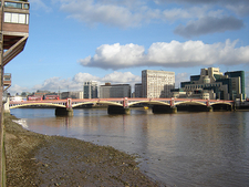 Vauxhall Bridge And Thames River
