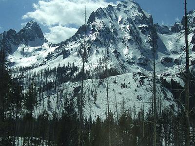 Veiled Peak - Grand Tetons - Wyoming - USA