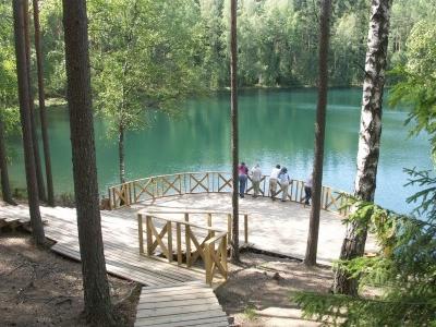Velnezers (Devil's) Lake