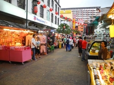 Vendors On Jalan Petaling Street