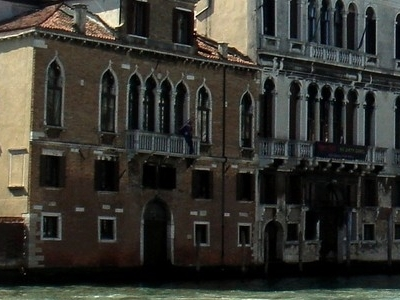 Ca' Tron Right With Palazzo Duodo On The Left