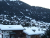 View Of Verbier Village In Early Morning