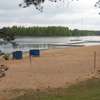 Beach Of Lake Verevi