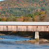Vermont Fall Covered Bridge