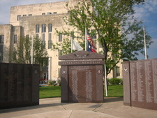 Veterans Memorial At The Childress County Courthouse Built 1939