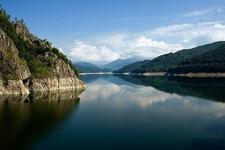 Vidraru Lake & Fagaras Mountains