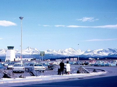 View Anchorage Airport In Alaska