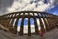 View Aqueduct In Spain