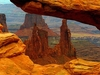 View Canyonlands From Mesa Arch UT