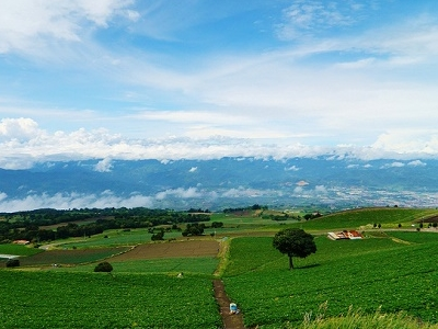 View Cartago Landscape In Costa Rica
