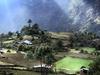 View Chaurikharka Village In Nepal Himalayas