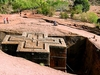 View Church Of Saint George From Top - Lalibela - Ethiopia