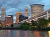 View Cleveland - Cuyahoga River - Ohio
