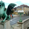 View Dragon Bridge - Ljubljana