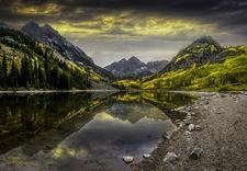 View Elk Mountains In Colorado