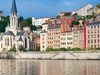 View Embankment Buildings In Lyon