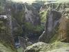 View Fjaðrárgljúfur Canyon In Iceland