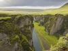 View Fjaðrárgljúfur Landscape - Iceland