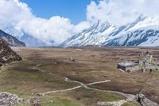 View From Manaslu Circuit - Nepal Himalayas