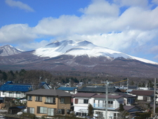 View From The Train Near Ueda City