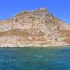 View Gramvousa From Balos Lagoon