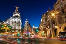 View Gran Via In Madrid