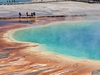 View Grand Prismatic Spring - Yellowstone NP