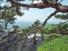 View Hanging Rock In North Carolina