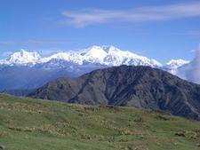 View Himalayas From Darjeeling WB