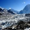 View Khumbu Icefall - Nepal Himalayas