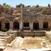 View Korinth Ancient Ruins