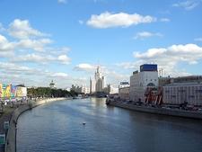 View Kotelnicheskaya Apartments By Moskva River