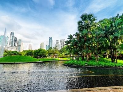 View Kuala Lumpur In KLCC District