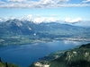 View Lake Thun From Niederhorn