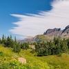 View Logan Pass - Glacier NP
